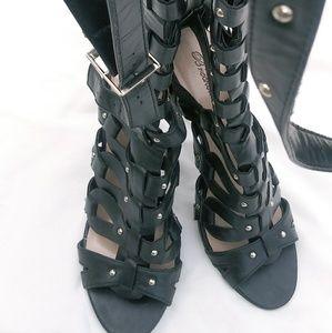 Breckelles sandal boots